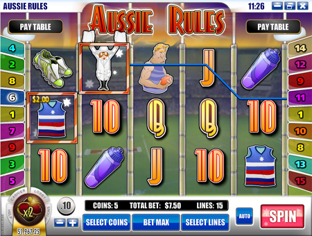 Aussie Rules slot