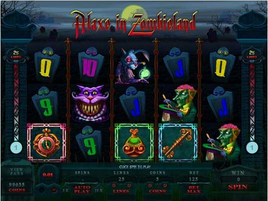 Alaxe In Zombieland Slot Game