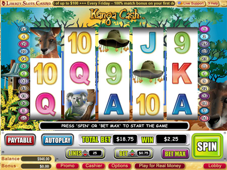 online slot games kangaroo land