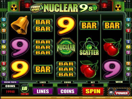 Nuclear 9s slot