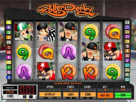Roller Derby Slot Game