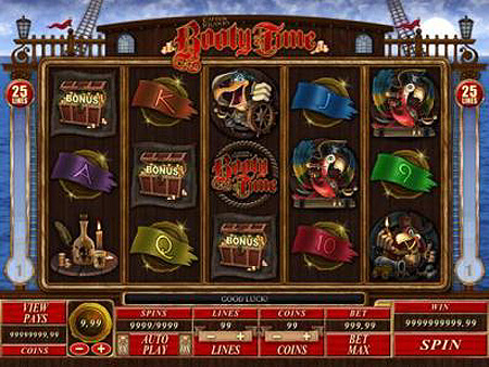 Pirate's Booty Slots - Try this Online Game for Free Now