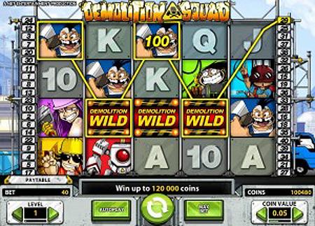 Demolition Squad Slot Game