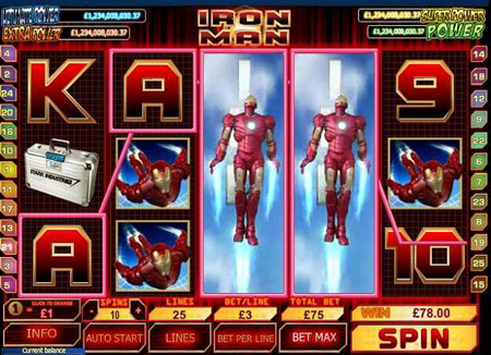 Ironman Slot Game