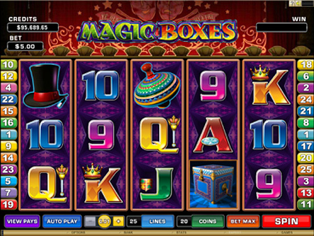 Magic Boxes Slots - Available Online for Free or Real