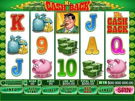 Mr Cashback Slot Game