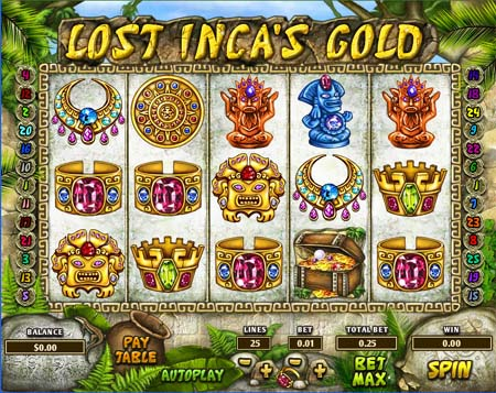 Lost Inca's Gold Slot Game
