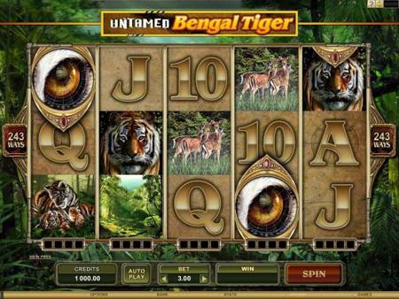 Untamed – Bengal Tiger Slot Game