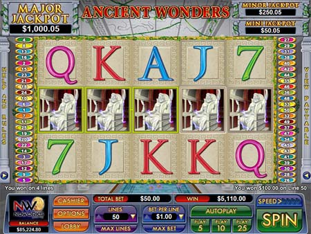 Ancient Wonders Slot Game