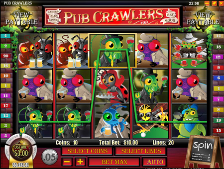Pub Crawlers Slot Game
