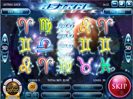 Astral Luck Slot Game