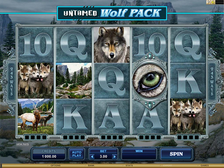 Wolf Pack Slot Game