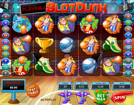 Slot Dunk Slot Game