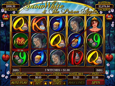 Snow White & The Poison Apple Slots - Play it Now for Free