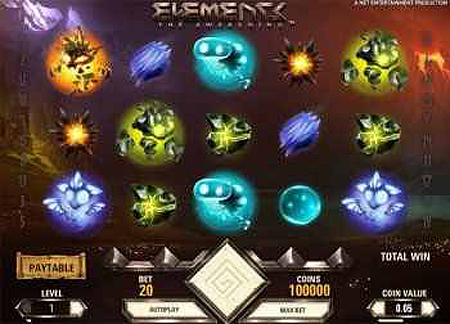 Elements - The Awakening Slot Game