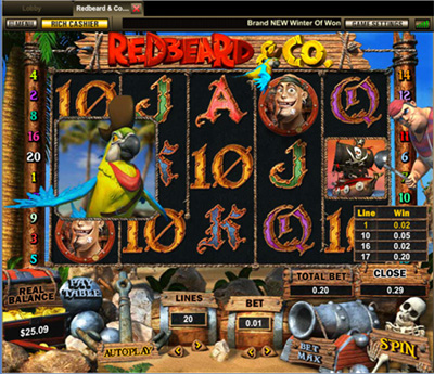 Redbeard & Co Slot Game