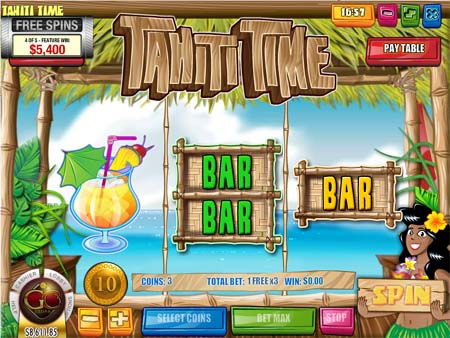 Tahiti Time Slot Game