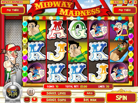 Midway Madness Slot Game