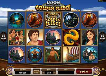 Jason And The Golden Fleece Slot Game