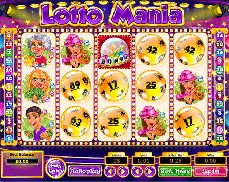 Lotto Mania Slot Game