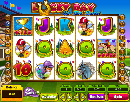 Lucky Day At the Races Slot Game