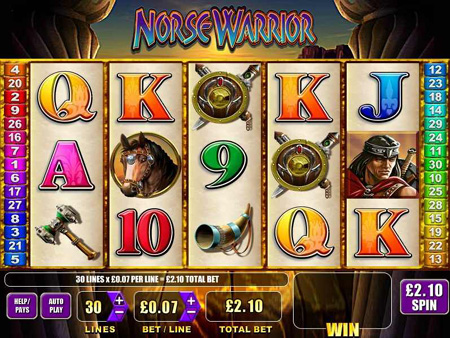 Norse Warrior Slot Game