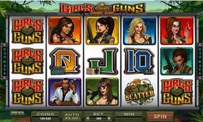 Girls With Guns Slot Game