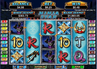 Ninja Star Slot Game