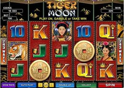 Tiger Moon Slot Game