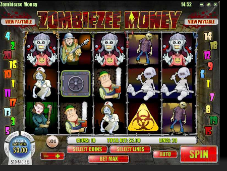 Zombiezee Money Slot Game