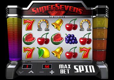 Super Sevens slot game