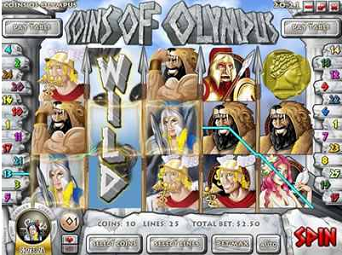 Coins of Olympus slot game