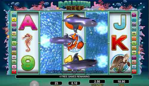Dolphin Reef slot game
