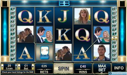 The Bold and the Beautful slot game