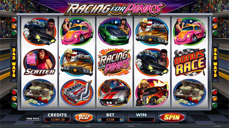 Racing for Pinks slot game