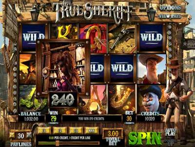 True Sheriff slot game