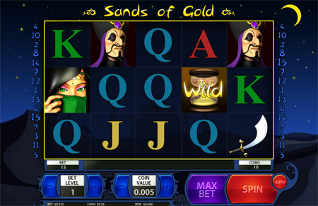 Sands of Gold slot