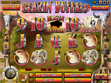 Blazin' Buffalo slot