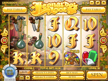 Leonardos Loot™ Slot Machine Game to Play Free in Rivals Online Casinos