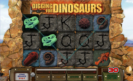 Diggin For Dinosaurs slot