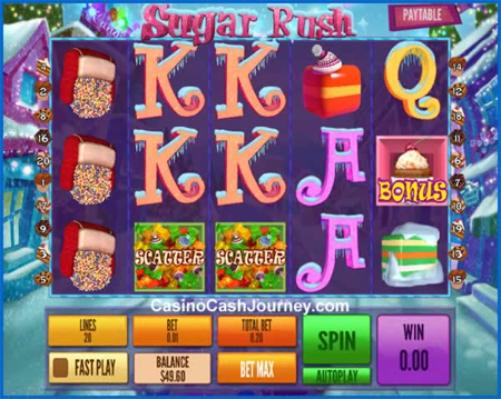 Sugar Rush Winter slot