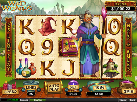 new online casino the gaming wizard