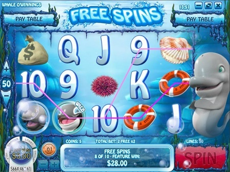 Whale O' Winnings slot