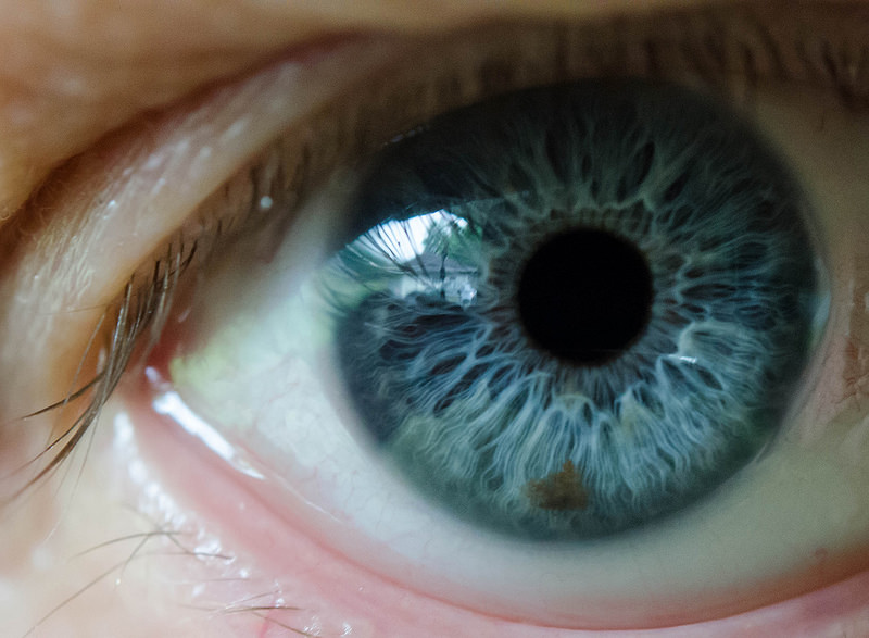 eye reflect