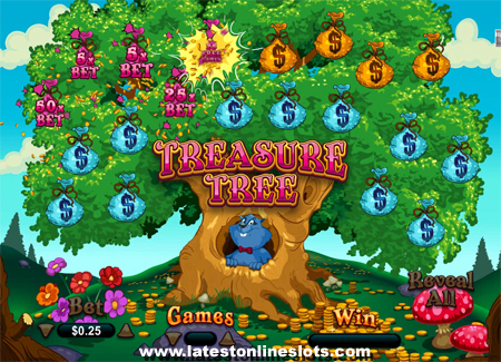 Treasure Tree Match & Win Game