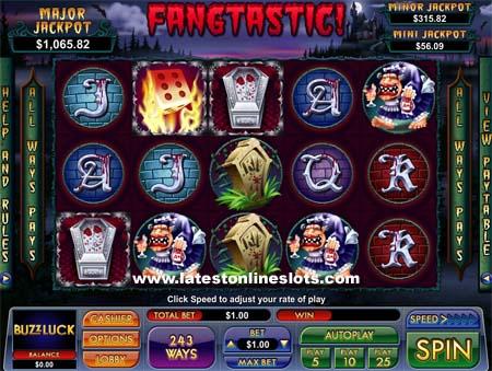 Fangtastic slot