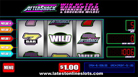 Aftershock Frenzy Slot Machine Online ᐈ WMS™ Casino Slots