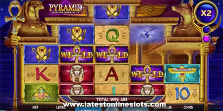 Pyramid - Quest for Immortality slot