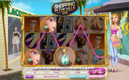 Shopping in the Hills slot