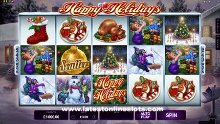 Happy Holiday slot